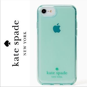 Kate Spade Mint Flexible iPhone Case 8,7,6s,6 Plus